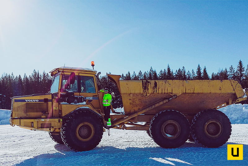 Volvo A25C